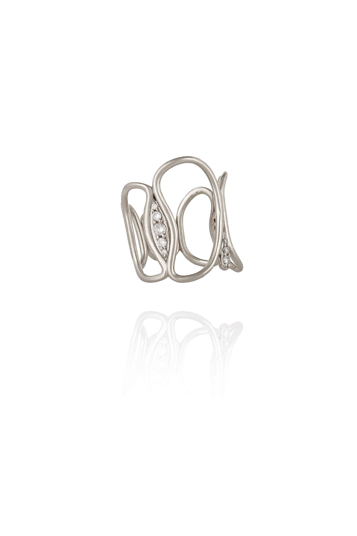 Fluid Diamonds Chain Ring