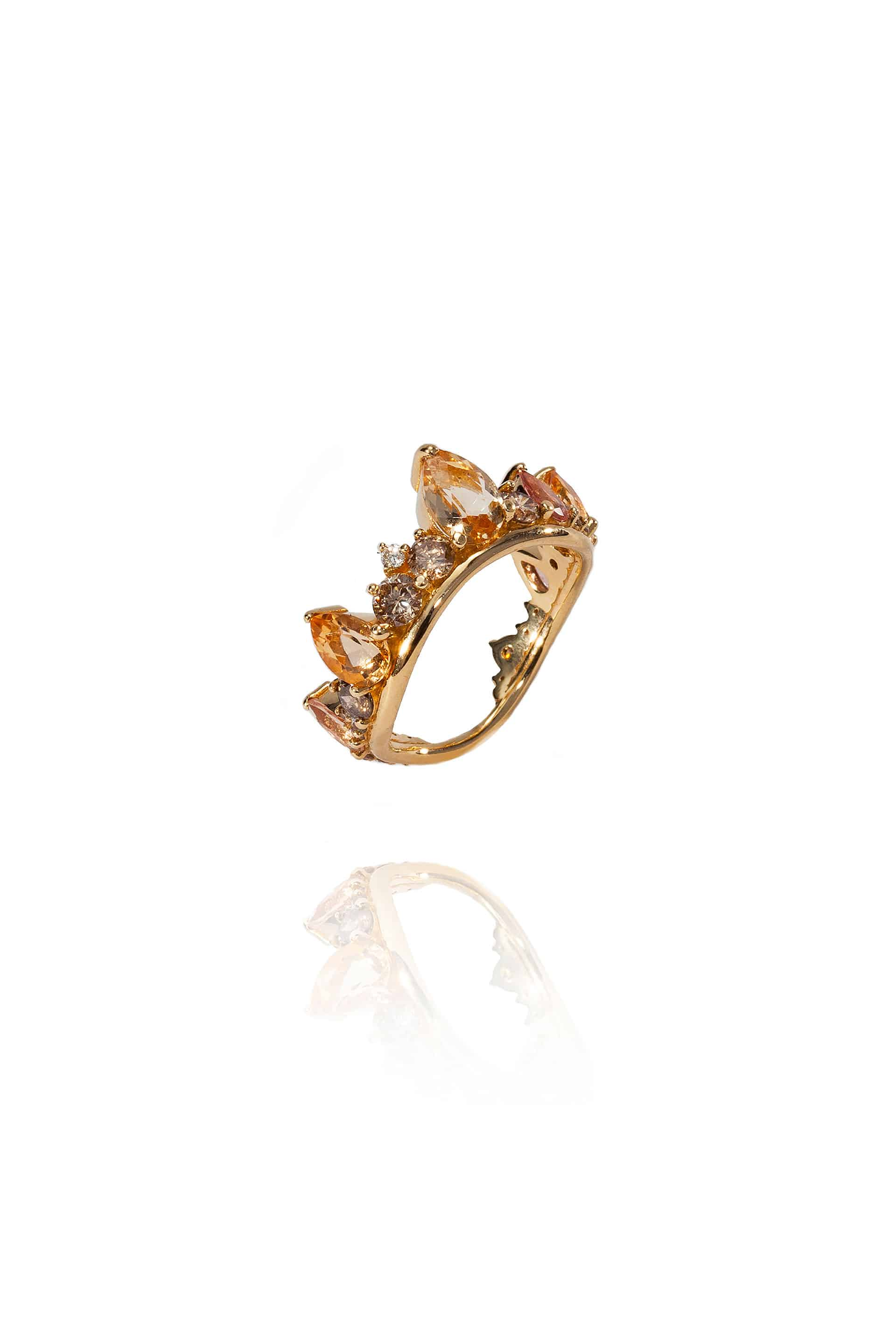 Electric Crown Ring