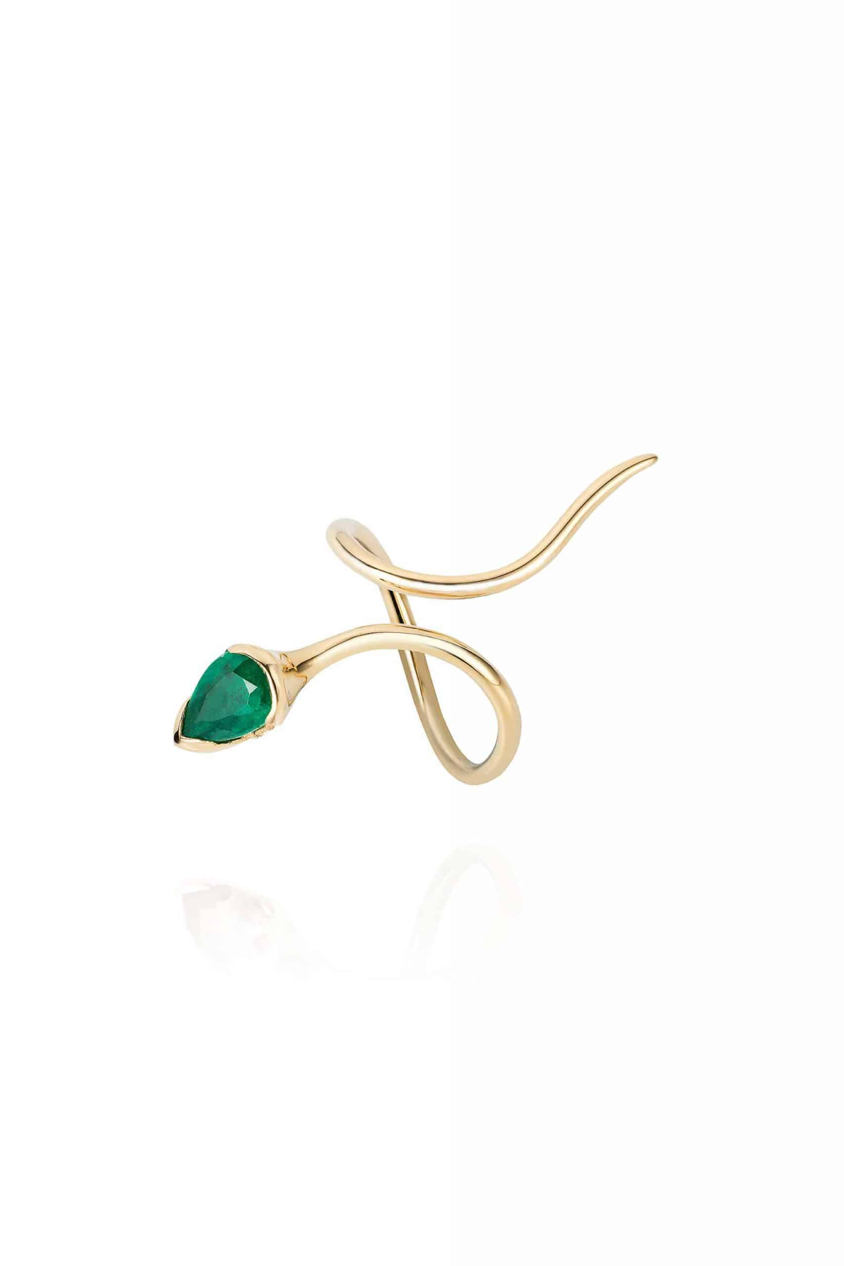 Sprout Long Ring