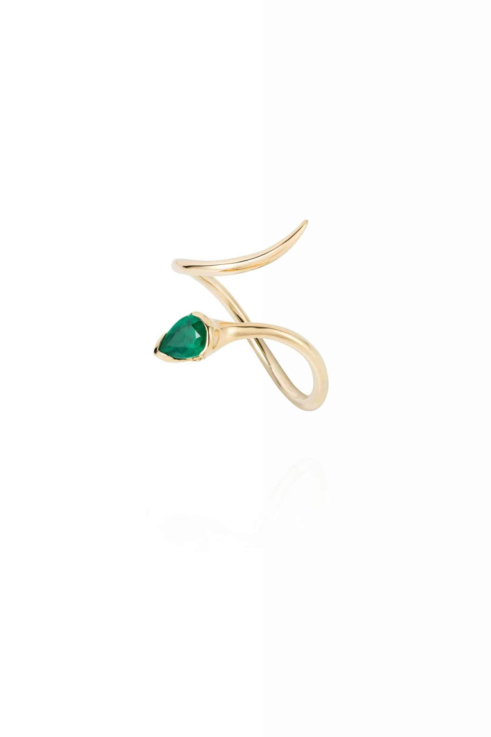 Sprout Open Ring