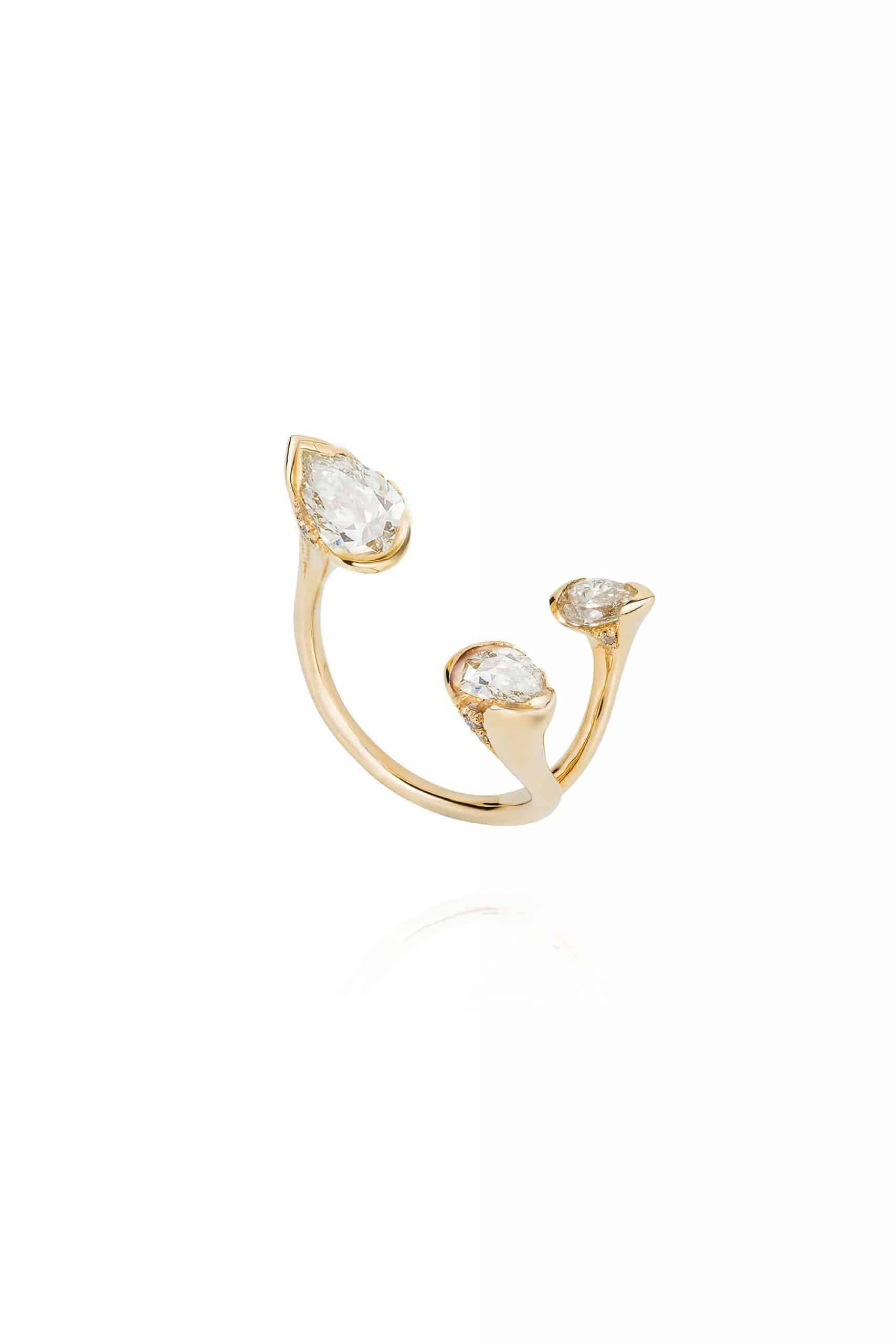 Sepals Small Triple Ring