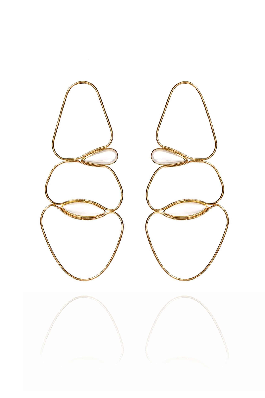 Fluid Chain Earrings I
