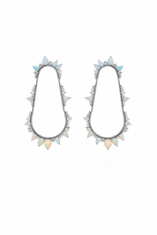 Electric Cycle Earrings
