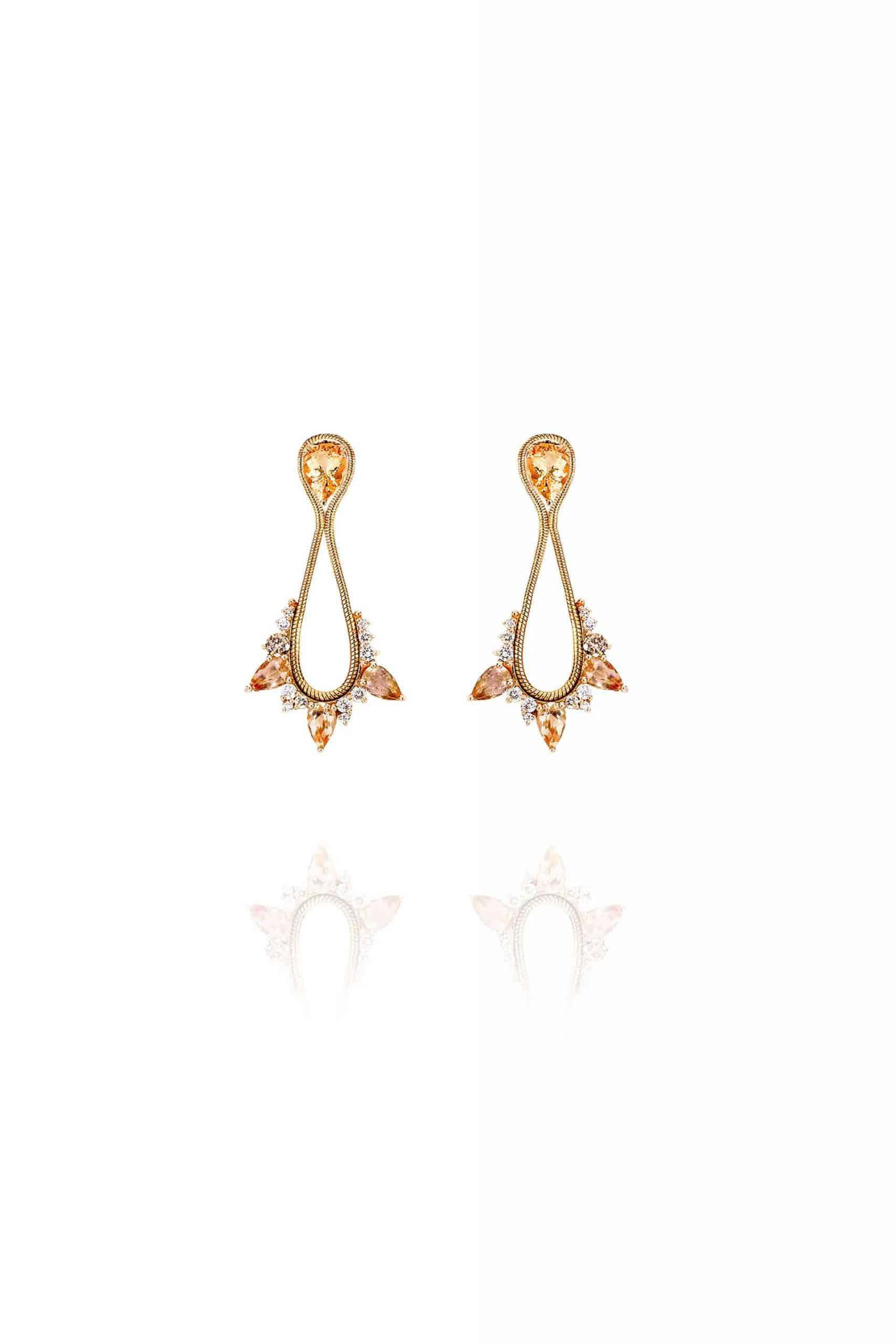 Electric Small Drop Earrings