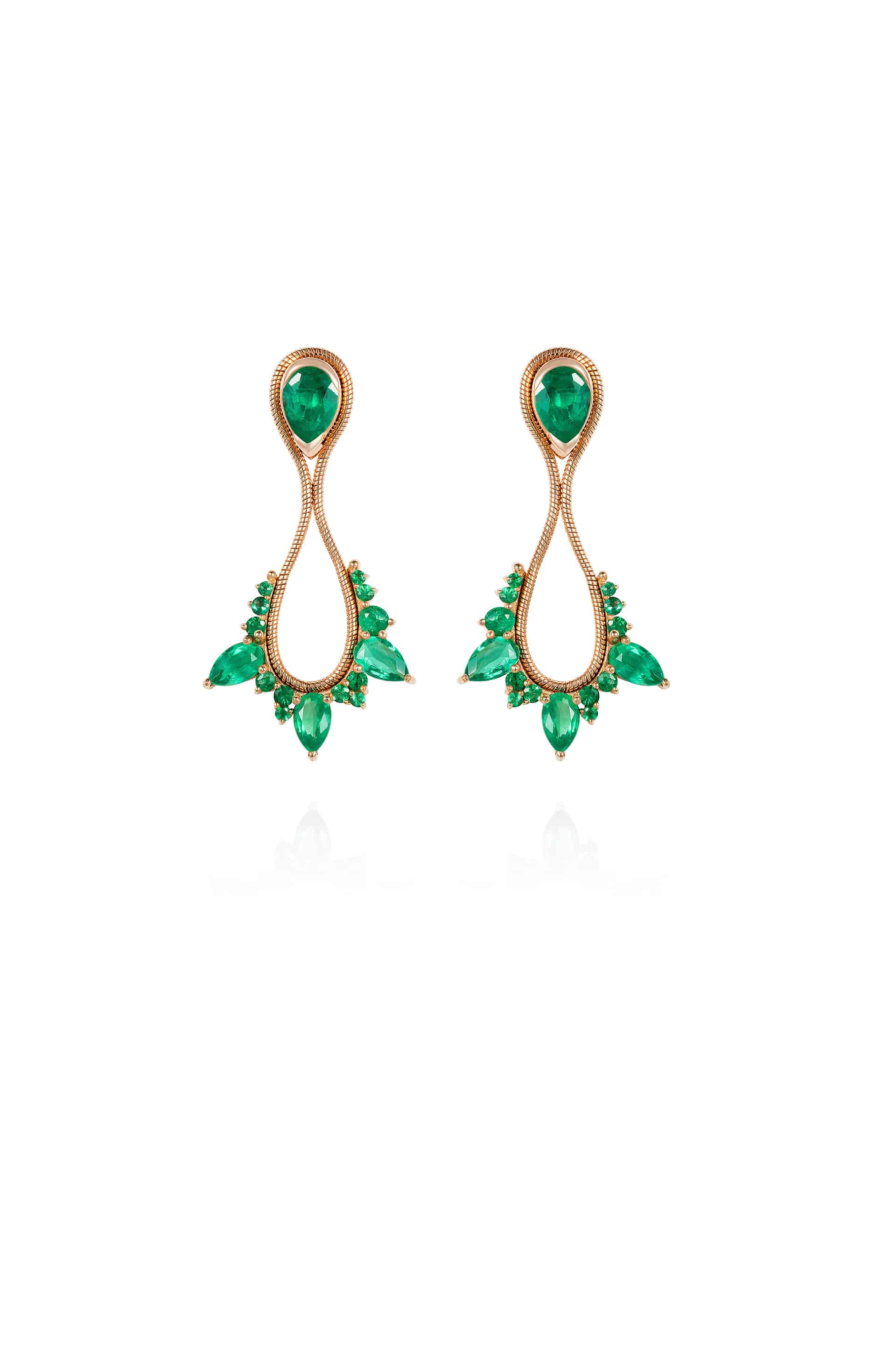 Electric Small Drop Earrings