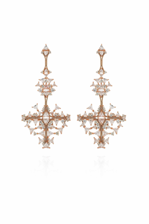 Fusion Cross Earrings