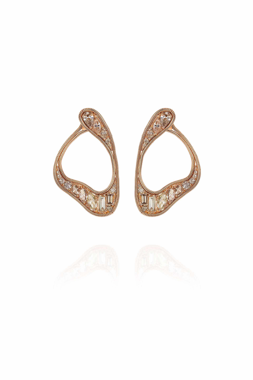 Stream Loop Earrings