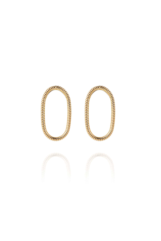 Single Chain Earrings Small