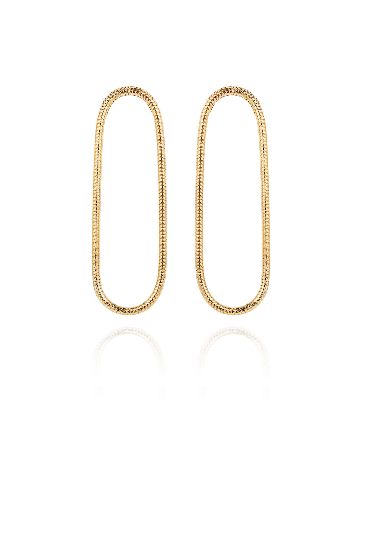 Single Chain Earrings Large