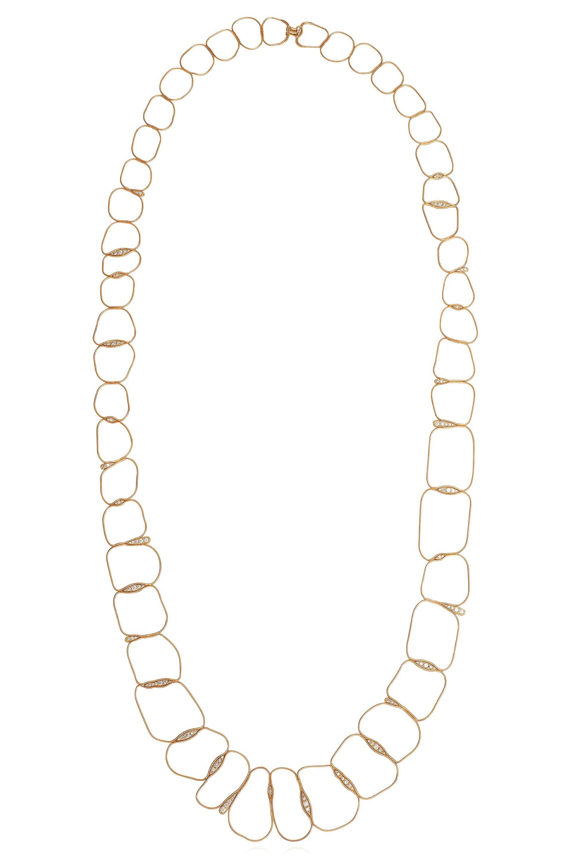 Fluid Diamonds Chain Necklace Long