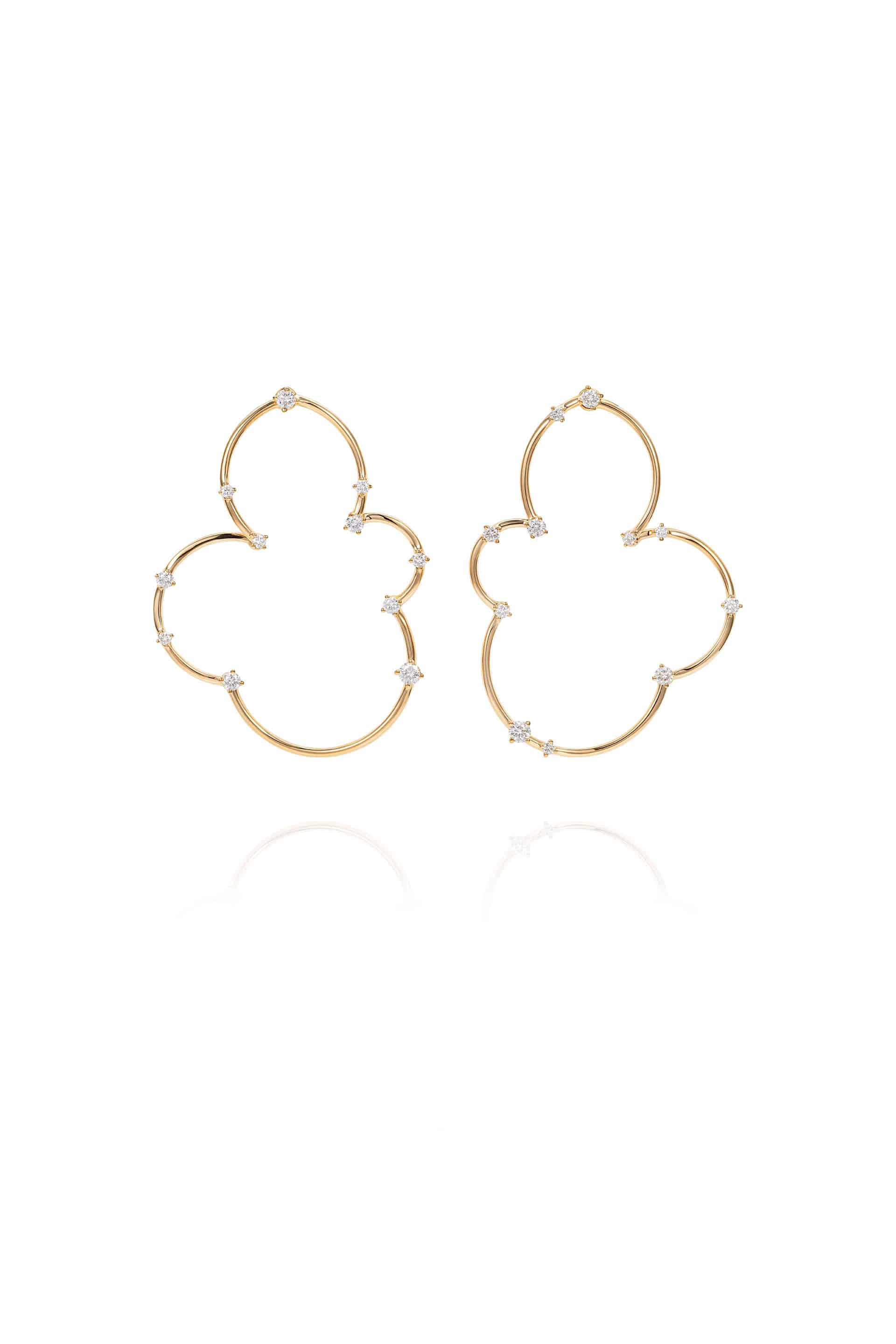 Contortionist Small Earrings