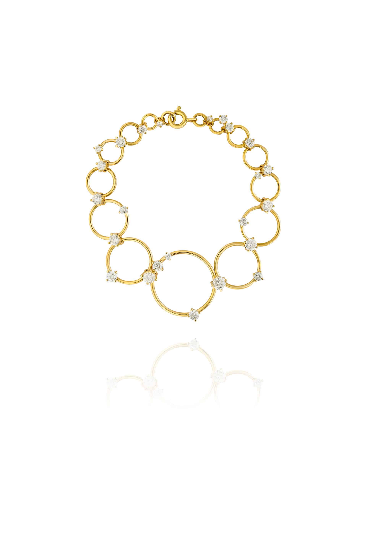 Aerial Loops Bracelet