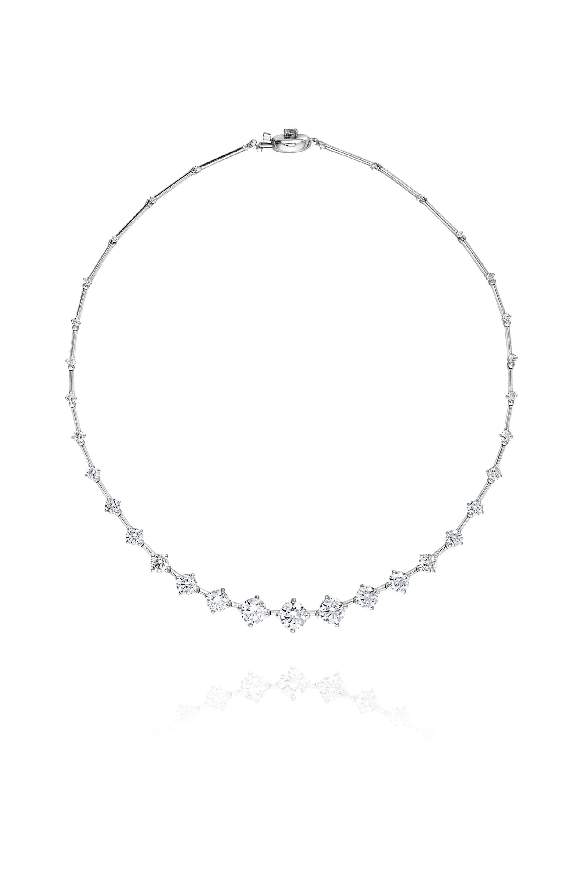 High Brilliant Sequence Necklace
