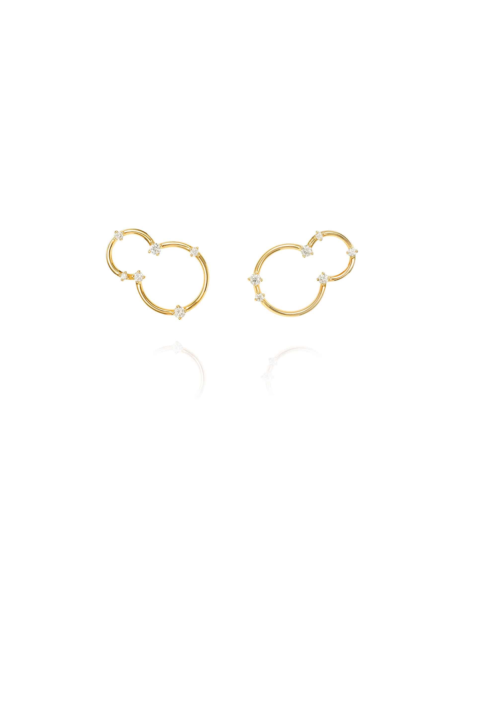Acrobat Lobe Small Earrings